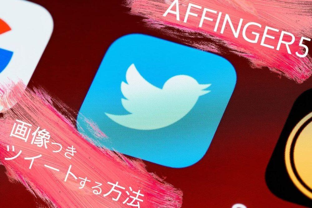 【1分解決】AFFINGER5の記事をTwitterで画像付きツイートする方法【Twitterカード設定】