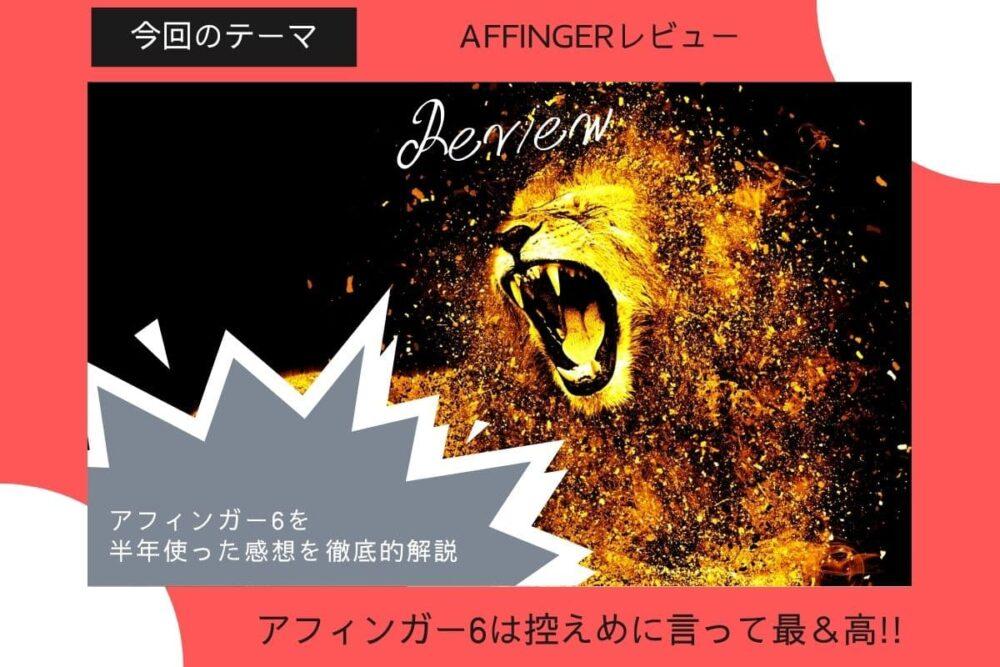 AFFINGER6(ACTION)6ヶ月使った感想&レビュー【豪華7特典付きお得入手方法】